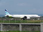 PoYi Tingさんが、台湾桃園国際空港で撮影したエアプサン A321-231の航空フォト(写真)