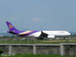 PoYi Tingさんが、台湾桃園国際空港で撮影したタイ国際航空 A330-343Xの航空フォト(写真)
