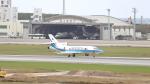 誘喜さんが、那覇空港で撮影した海上保安庁 Falcon 900の航空フォト(写真)