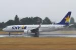 camelliaさんが、鹿児島空港で撮影したスカイマーク 737-81Dの航空フォト(写真)