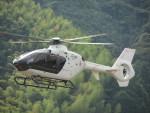 ランチパッドさんが、静岡ヘリポートで撮影した森ビルシティエアサービス EC135T2+の航空フォト(写真)