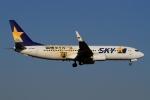 ウッディーさんが、福岡空港で撮影したスカイマーク 737-86Nの航空フォト(写真)