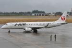 camelliaさんが、鹿児島空港で撮影したジェイ・エア ERJ-190-100(ERJ-190STD)の航空フォト(写真)
