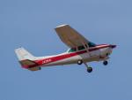 Mame @ TYOさんが、名古屋飛行場で撮影した富士航空 172P Skyhawkの航空フォト(写真)