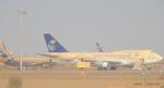 cornicheさんが、キング・アブドゥルアジズ国際空港で撮影したサウジアラビア王国政府 747-3G1の航空フォト(飛行機 写真・画像)