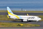 panchiさんが、羽田空港で撮影したAIR DO 737-781の航空フォト(写真)