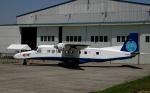 チャーリーマイクさんが、調布飛行場で撮影した宇宙航空研究開発機構 228-202の航空フォト(写真)