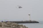 ひらひささんが、津市伊勢湾ヘリポートで撮影した三重県防災航空隊 AW139の航空フォト(写真)