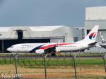 PoYi Tingさんが、台湾桃園国際空港で撮影したマレーシア航空 737-8H6の航空フォト(写真)