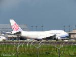 PoYi Tingさんが、台湾桃園国際空港で撮影したチャイナエアライン 747-409の航空フォト(写真)