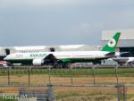 PoYi Tingさんが、台湾桃園国際空港で撮影したエバー航空 777-35E/ERの航空フォト(写真)