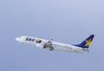 ぷぅちゃんさんが、新千歳空港で撮影したスカイマーク 737-81Dの航空フォト(写真)