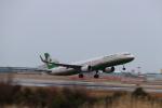 まっさんさんが、仙台空港で撮影したエバー航空 A321-211の航空フォト(写真)