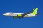 HISAHIさんが、那覇空港で撮影したソラシド エア 737-81Dの航空フォト(写真)