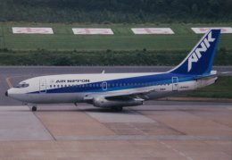 marariaさんが、青森空港で撮影したエアーニッポン 737-281/Advの航空フォト(飛行機 写真・画像)