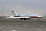 たまさんが、羽田空港で撮影したビスタジェット BD-700-1A10 Global 6000の航空フォト(写真)