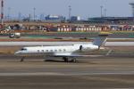 たまさんが、羽田空港で撮影した英皇集団 G500/G550 (G-V)の航空フォト(写真)