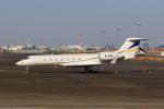 たまさんが、羽田空港で撮影した東方公務航空 G-V-SP Gulfstream G550の航空フォト(写真)