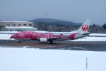 marariaさんが、青森空港で撮影した日本トランスオーシャン航空 737-446の航空フォト(写真)