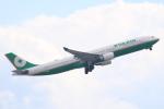 キイロイトリさんが、関西国際空港で撮影したエバー航空 A330-302の航空フォト(写真)
