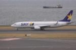 けいとパパさんが、羽田空港で撮影したスカイマーク 737-81Dの航空フォト(写真)