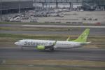 AntonioKさんが、羽田空港で撮影したソラシド エア 737-81Dの航空フォト(写真)