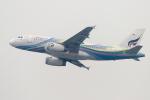 mameshibaさんが、香港国際空港で撮影したバンコクエアウェイズ A319-132の航空フォト(写真)