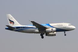 ぱなくろさんが、ワットタイ国際空港で撮影したバンコクエアウェイズ A319-132の航空フォト(飛行機 写真・画像)