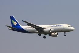 ぱなくろさんが、ワットタイ国際空港で撮影したラオス国営航空 A320-214の航空フォト(飛行機 写真・画像)