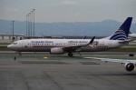 UA_Premierさんが、サンフランシスコ国際空港で撮影したコパ航空 737-8V3の航空フォト(写真)