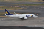 AntonioKさんが、羽田空港で撮影したスカイマーク 737-82Yの航空フォト(写真)