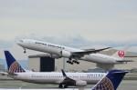 UA_premierさんが、サンフランシスコ国際空港で撮影した日本航空 777-346/ERの航空フォト(写真)