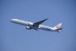 レドームさんが、羽田空港で撮影した日本航空 777-346/ERの航空フォト(写真)