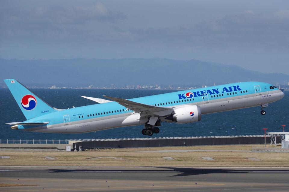yabyanさんの大韓航空 Boeing 787-9 (HL8081) 航空フォト