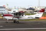 B14A3062Kさんが、八尾空港で撮影した日本航空学園 T206H Turbo Stationairの航空フォト(写真)