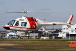 B14A3062Kさんが、八尾空港で撮影した朝日航洋 206B JetRanger IIの航空フォト(写真)