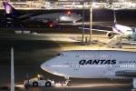 グリスさんが、羽田空港で撮影したカンタス航空 747-438/ERの航空フォト(写真)