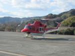 ランチパッドさんが、静岡ヘリポートで撮影した奈良県防災航空隊 412EPの航空フォト(写真)