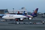 sepia2016さんが、成田国際空港で撮影したタイ国際航空 747-4D7の航空フォト(写真)