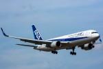 みぐさんが、成田国際空港で撮影した全日空 767-381/ERの航空フォト(写真)