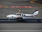 まーたんさんが、高松空港で撮影した朝日航空 Baron G58の航空フォト(写真)