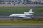 KAZKAZさんが、羽田空港で撮影したアメリカ企業所有 Falcon 900EXの航空フォト(写真)
