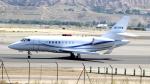 誘喜さんが、マドリード・バラハス国際空港で撮影したウェルズ・ファーゴ・デラウェア・トラスト Falcon 2000の航空フォト(写真)
