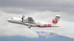 誘喜さんが、鹿児島空港で撮影した日本エアコミューター ATR-42-600の航空フォト(写真)
