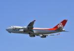 kix-boobyさんが、関西国際空港で撮影したカーゴルクス・イタリア 747-4R7F/SCDの航空フォト(写真)