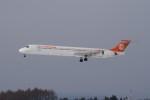 marariaさんが、青森空港で撮影した立栄航空 MD-90-30の航空フォト(写真)
