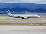 よんすけさんが、関西国際空港で撮影したエアプサン A321-131の航空フォト(写真)