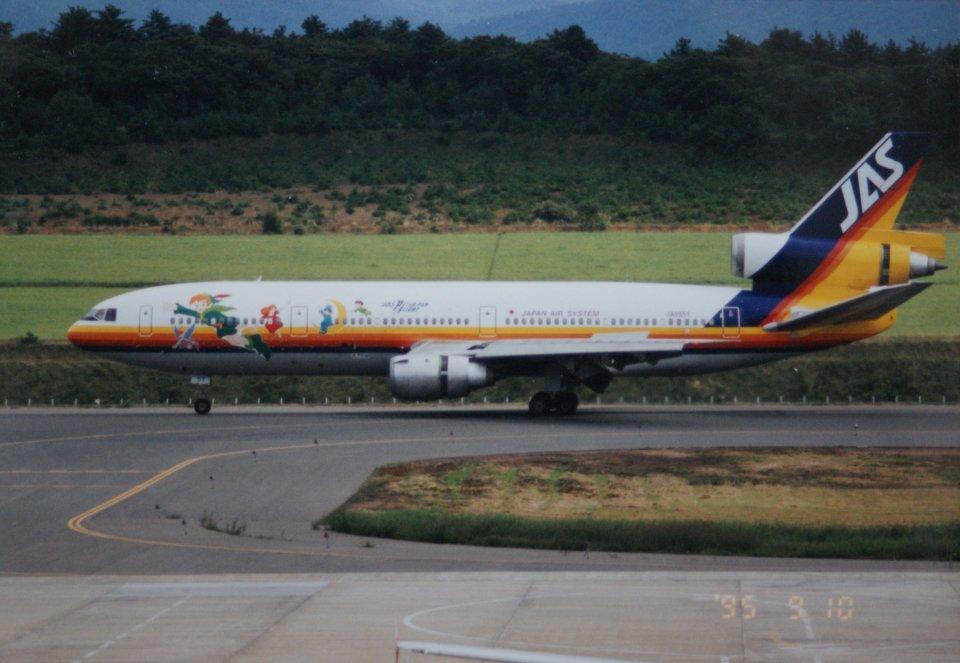 日本エアシステム McDonnell Douglas DC-9 JA8440 名古屋飛行場 航空フォト | by