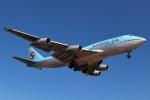 タンちゃんさんが、新千歳空港で撮影した大韓航空 747-4B5の航空フォト(写真)