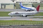 南国の防人さんが、那覇空港で撮影したJALエクスプレス 737-446の航空フォト(飛行機 写真・画像)